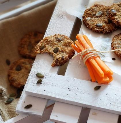 Najzdrowsze na świecie ciasteczka [bez: glutenu, laktozy, sody i proszku]