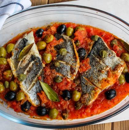 Dorada Veracruz [ryba po meksykańsku]